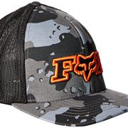 Gorra Flexfit Visera Redondeada Fox No Bounds Graphite (L/Xl , Gris)