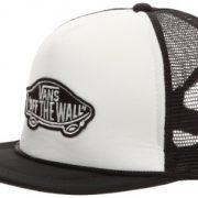 Vans Kappe M Classic Patch Truc - Camiseta, color negro (white/black ()), talla One size