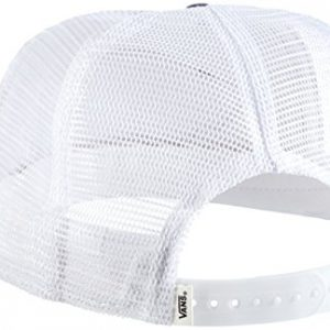 Vans Beach Girl Trucker Hat - Gorra de béisbol para mujer, multicolor (Dyed Dots/Stripes/Blue/Red), talla única