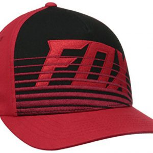 Curved Peak Flexfit Cap Fox Savant Rojo (L/Xl , Rojo)