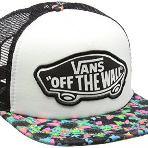 Vans Beach Girl Trucker Hat - Gorra de béisbol Mujer, Multicolor (Floral Mix Black/Turquoise), Talla única (Talla del fabricante: One Size)