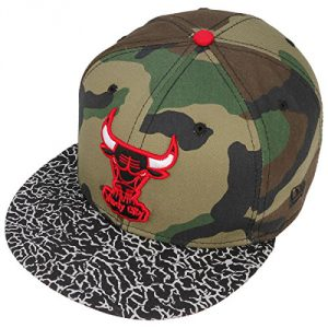 59FIFTY Bulls Camouflage Cap by NEW ERA fitted capgorra plana (62 cm - camuflaje)