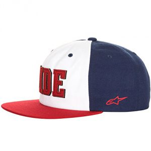 Alpinestars Stride Snapback Cap Red/White/Navy Blue One Size