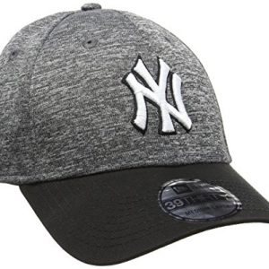 New Era New Era Ny Yankees Fleck 39Thirty Stretch-Gorra de béisbol Hombre    Gris gris Medium
