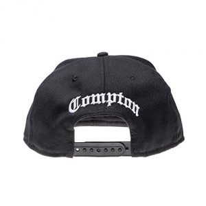 Gorra New Era - 9Fifty Letter Stack Script Compton negro talla: Ajustable