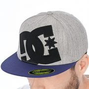 Gorra Flexfit Visera Plana Dc Ya Heard Light Heather Gris (L/Xl , Gris)