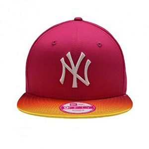 Gorra New Era - 9Fifty Fade & Shine New York Yankees Rosa Beetroot Osfa