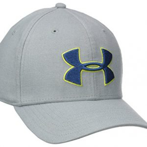 Under Armour Closer Update - Gorra de tenis para hombre, color Gris, talla M/L