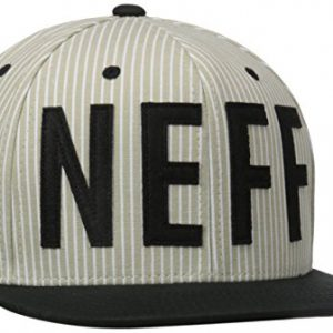 Neff Brother gorra gris/negro, color gris, tamaño FR : (Taille Fabricant : U)