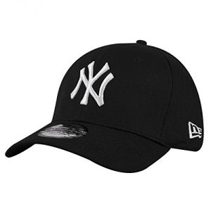 New Era 39Thirty - Gorra unisex, color negro / blanco, talla M / L