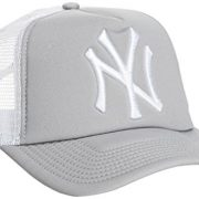 New Era Clean Trucker Neyyan - Gorra para hombre, color gris / blanco, talla OSFA