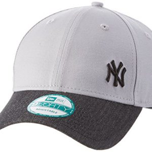 NEW ERA - Gorra para hombre Flawless Denim Mix neyyan, hombre, Cap Flawless Denim Mix Neyyan, gris, talla única