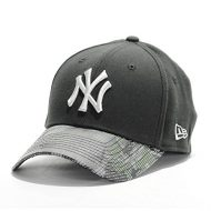 Gorra New Era - 39Thirty Mlb Reflective Camo New York Yankees negro/plateado talla: S/M