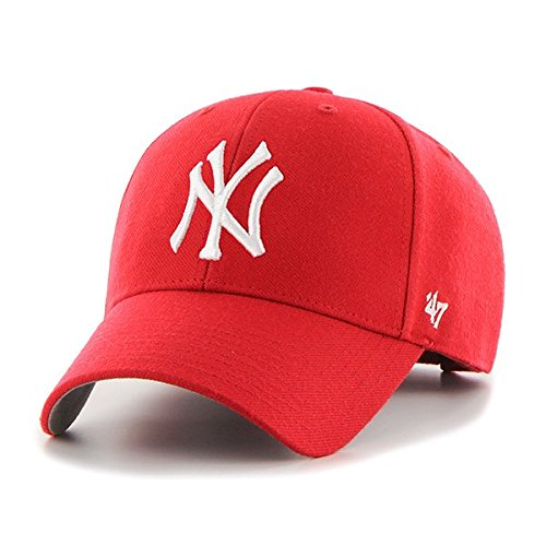 '47 Cap MLB New York Yankees MVP, red, One size, B de mvp17wbv de RD