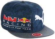 Puma - Gorro RBR New bloque Snapback, total eclipse/redbull LS AOP/Grey Heather, OSFA, 021063 01