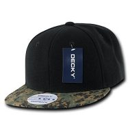 Decky Camo Bill Snap Back - Gorra para hombre, color multicolor, talla n/a