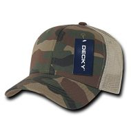 Decky Cotton Curve Bill Trucker - Gorra para hombre, color multicolor, talla n/a