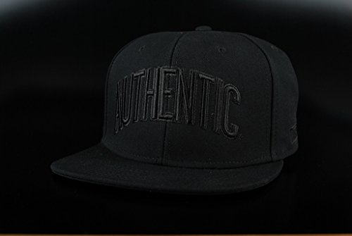 Vans Authentic Snapback Cap Blackout