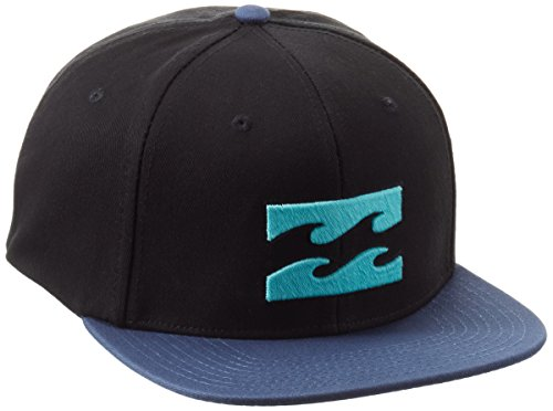 g.s.m. Europe – BILLABONG All Day Snapback Gorra, Black/Blue, One size