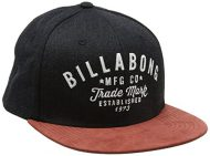 Billabong hombres de Sama Snap Back Head wear, hombre, Sama Snap Back, Black Heather, talla única