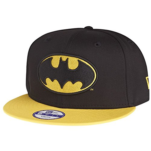 New Era 9fifty Batman Youth Snapback Cap Basecap Cap Kappe Kids Young Children