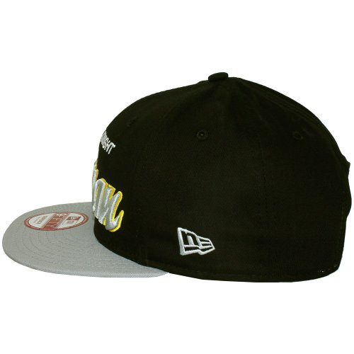 New Era 9Fifty Reverse Héroe Word Batman Gorra Snapback - Gris, Medium-Large = 56.8cm - 61.5cm