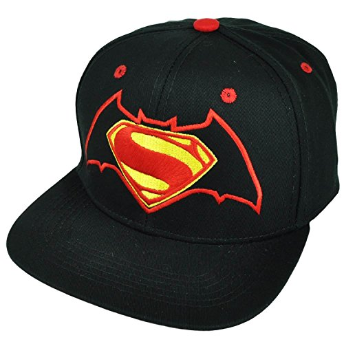 DC Comics Batman vs. Superman Mixed Logo Snapback Gorra De Béisbol