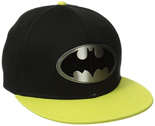 DC Comics Batman Metal Badge Logo Snapback Gorra De Béisbol